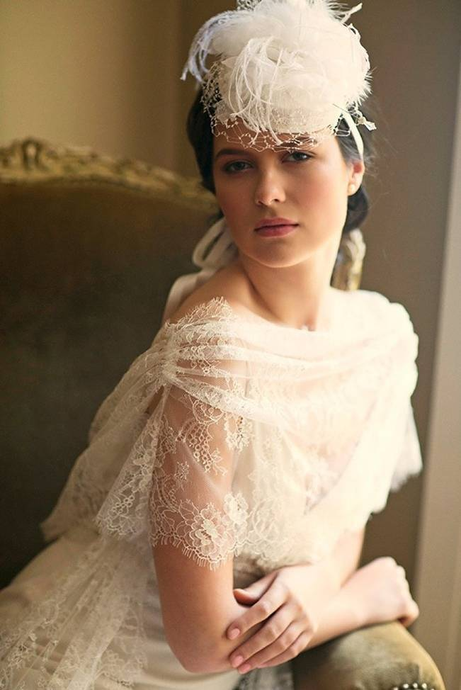 Wedding Day Adornments: Bridal Hats
