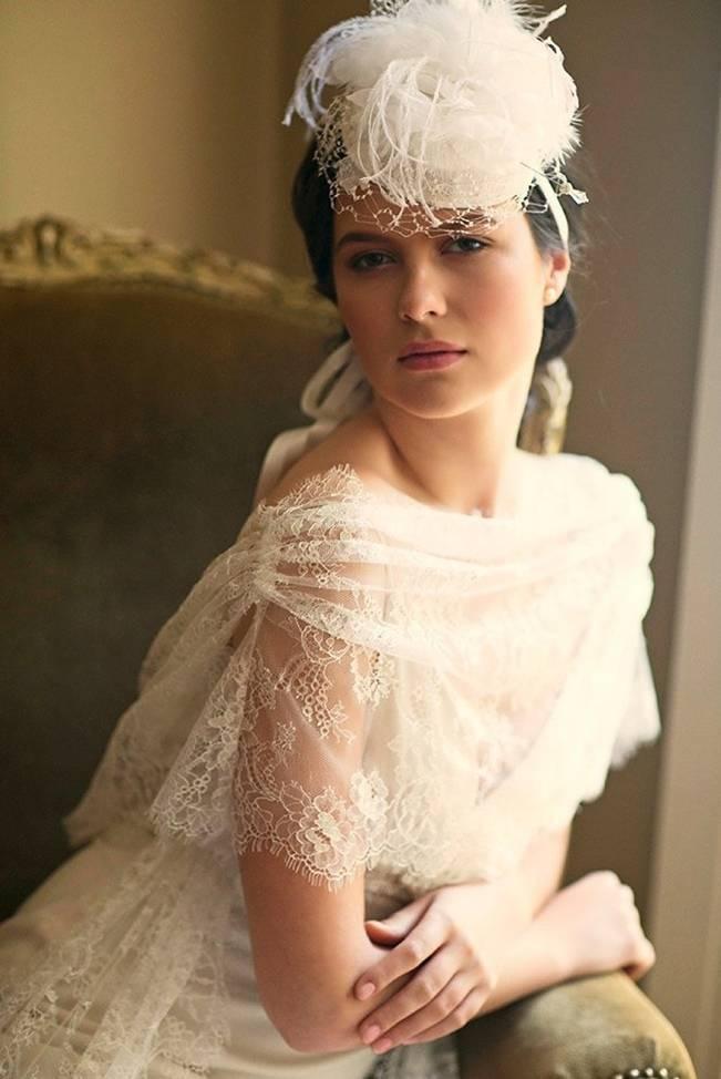Wedding Day Adornments: Bridal Hats