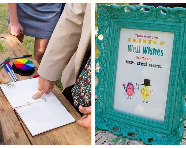 thumb print guest book