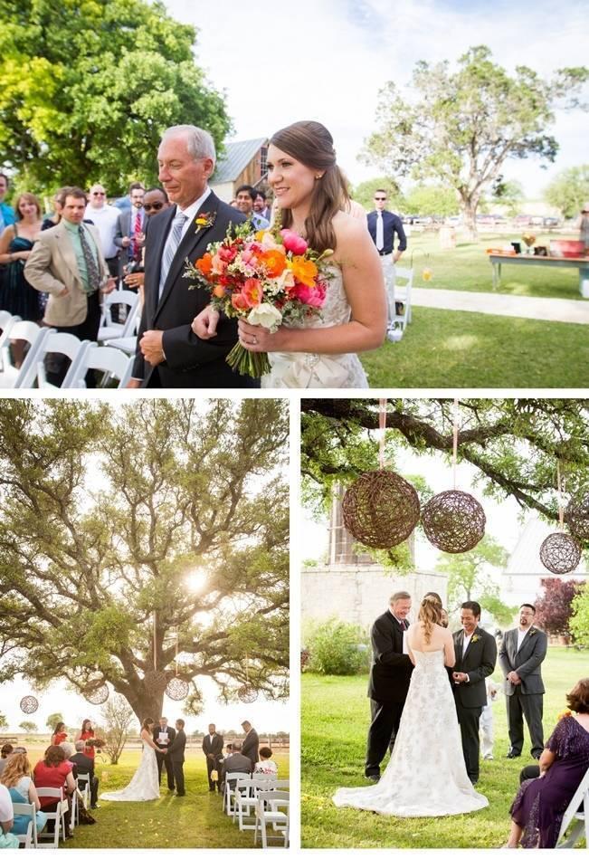 becker vineyards wedding ceremony