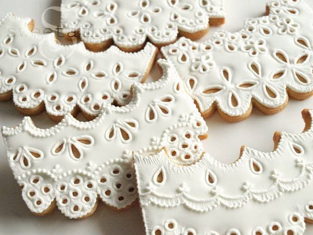 how to make lace cookies by sweetambs