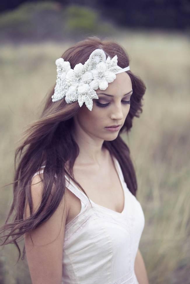 Handmade Wedding Adornments by Bride La Boheme