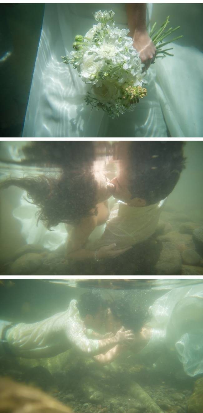 underwater maui trash the dress