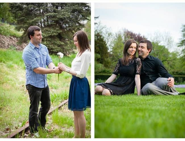 outdoor engagement session ideas