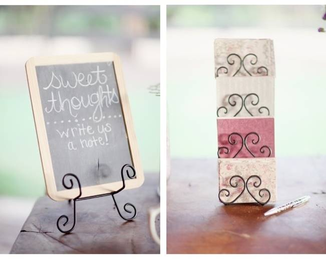 Real Wedding Guest Book Alternatives
