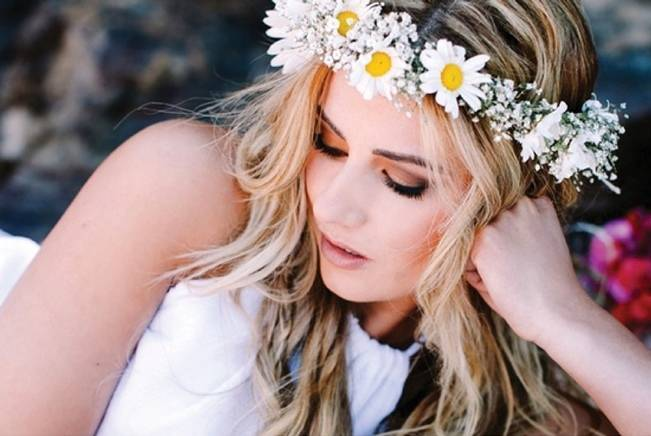 daisy flower crown halo