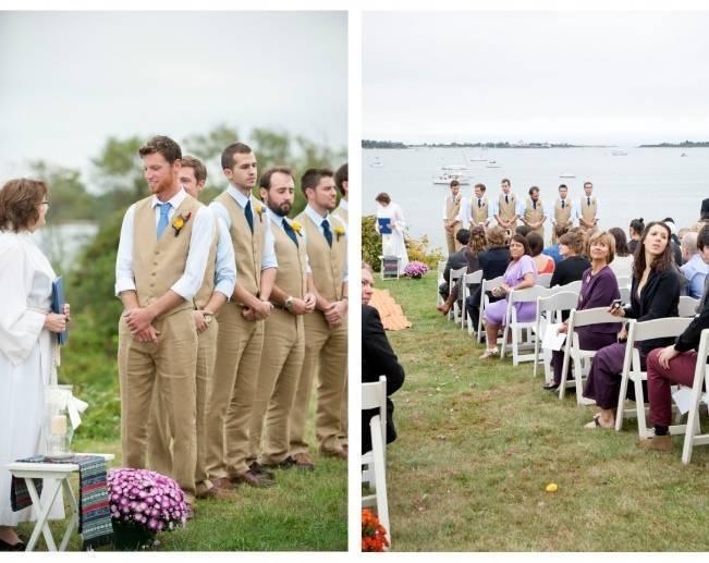 grooms in vests