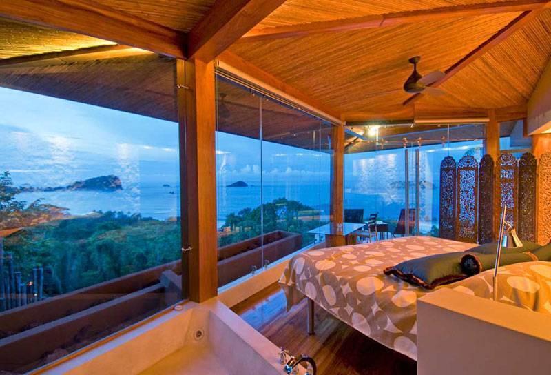 costa rica villa with ocean view