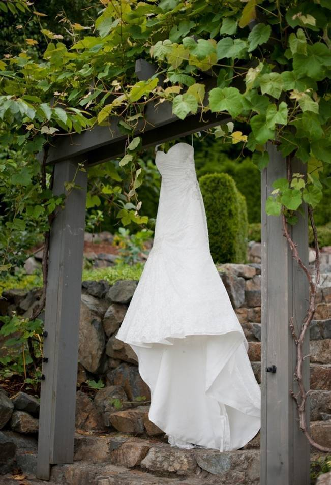 vineyard wedding dress