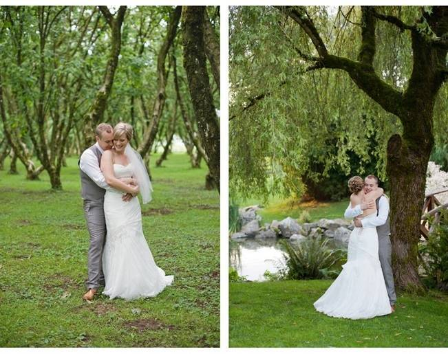 outdoor manitoba wedding