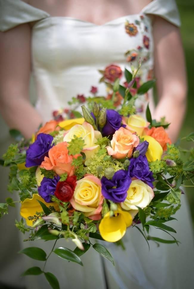 Eco Wedding at Woolman Hill {Dani Fine Photography}