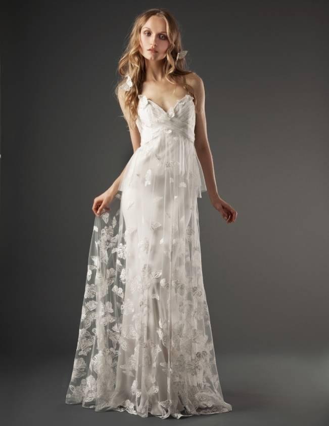 Tia gown - butterfly wedding dress