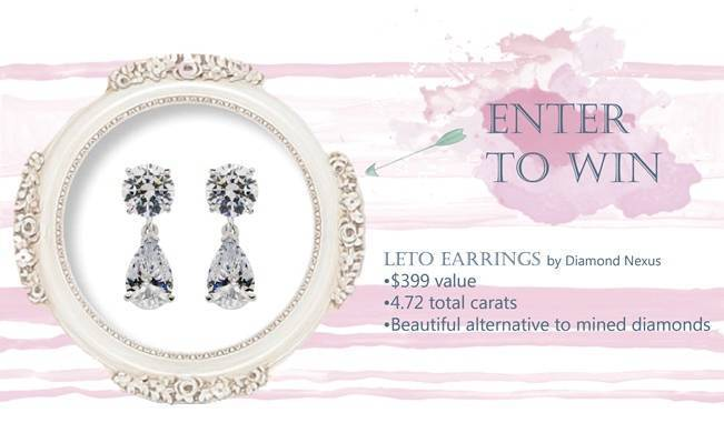 Diamond Nexus Giveaway: Enter to Win the Elegant Leto Earrings