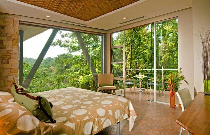 tropical forest view costa rica villa