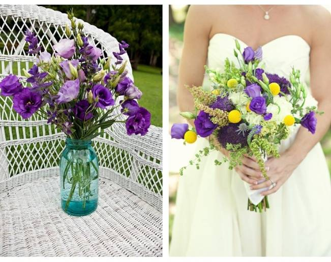 Wedding Flower Inspiration: Lisianthus