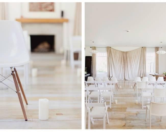 natural home wedding