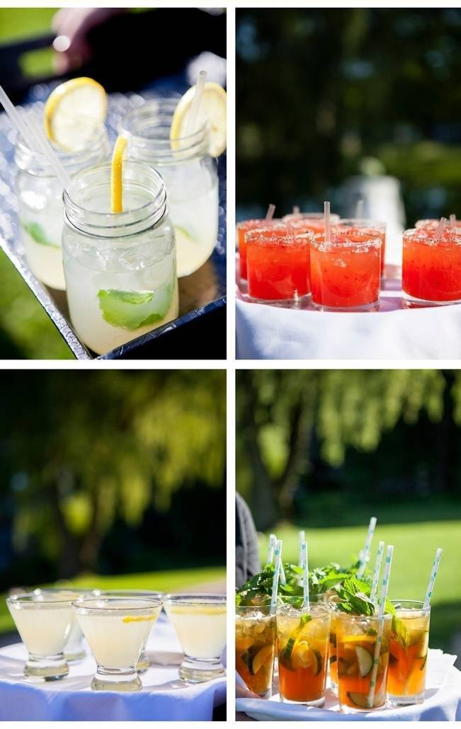 rustic wedding cocktails