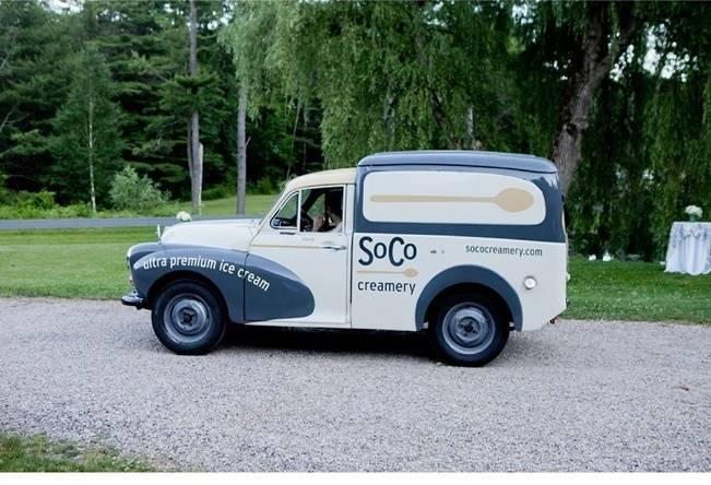 wedding icecream truck