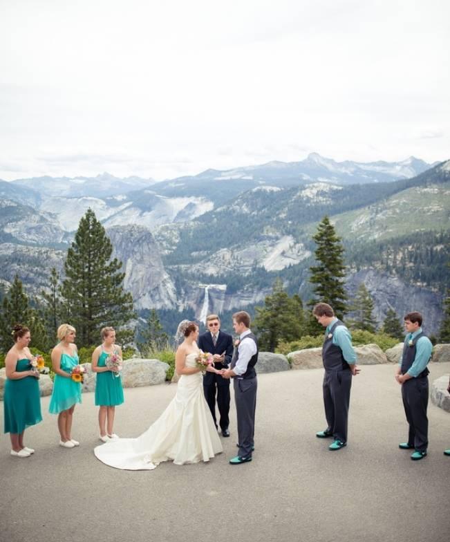 Yosemite Weddings: Rustic Yosemite Wedding {Amy Atkins Photography}