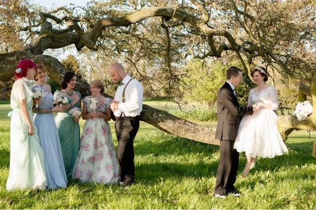 vintage english wedding