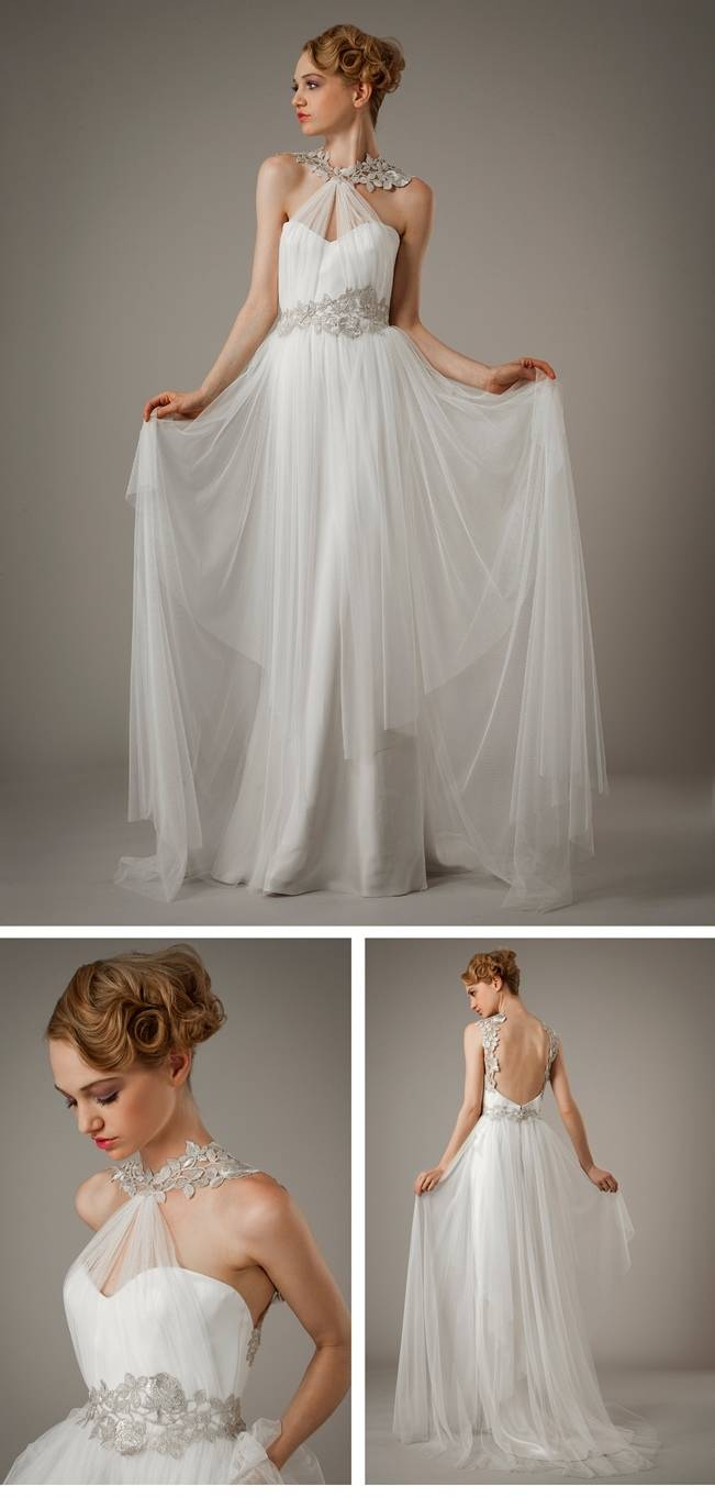 ehtereal wedding gown