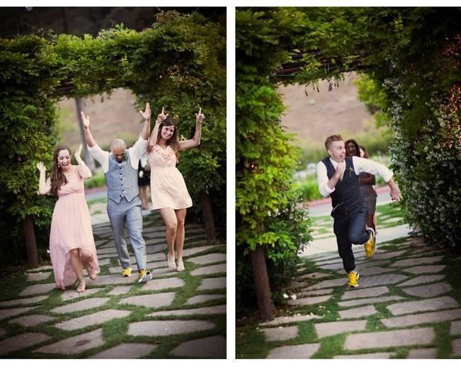 yellow groomsmen shoes