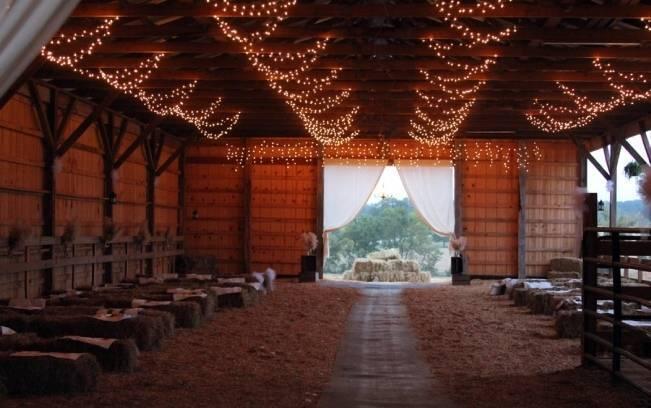 big barn wedding