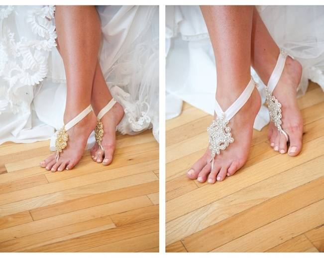 Wedding Day Adornments Barefoot Sandals 2