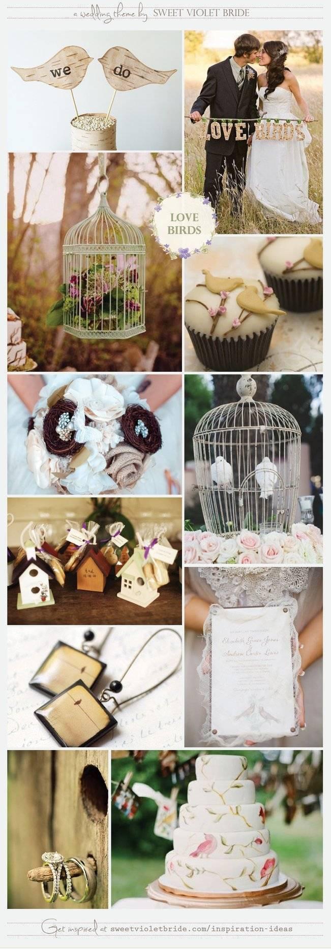 Wedding Inspiration Board #13: Love Birds