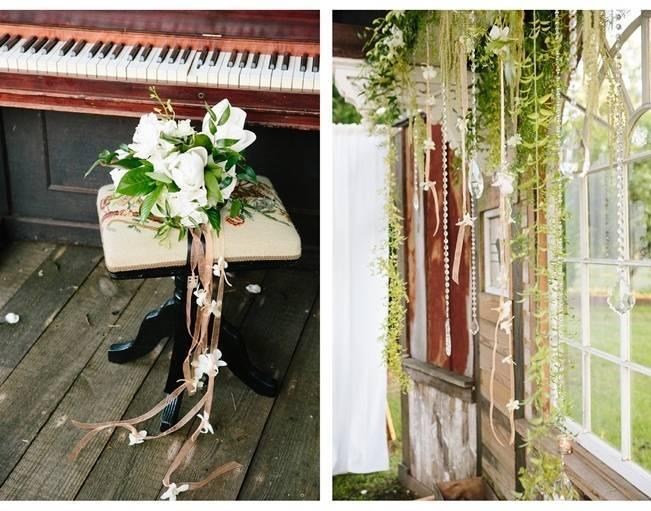 vintage southern wedding details