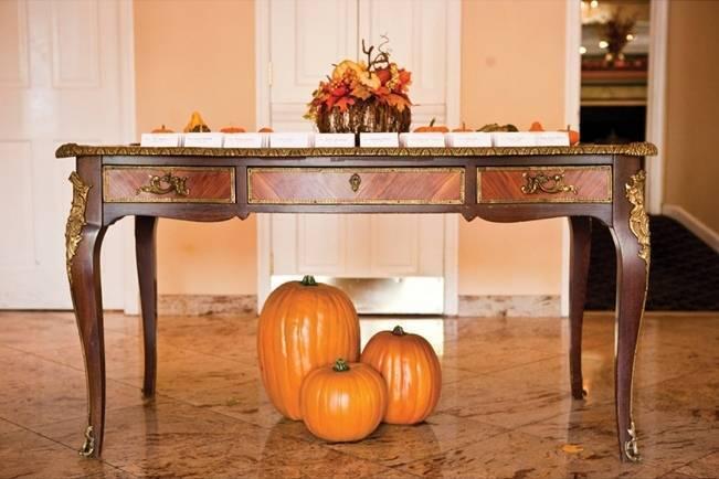 pumpkin wedding theme
