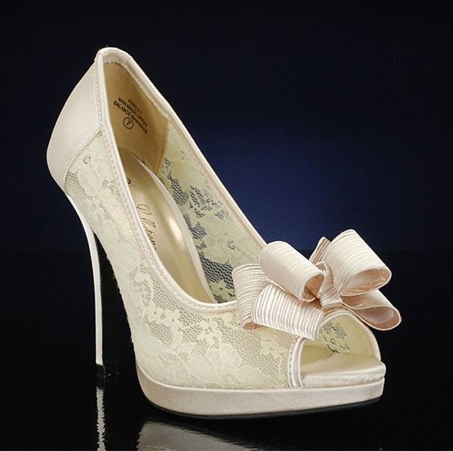 french style bridal shoes