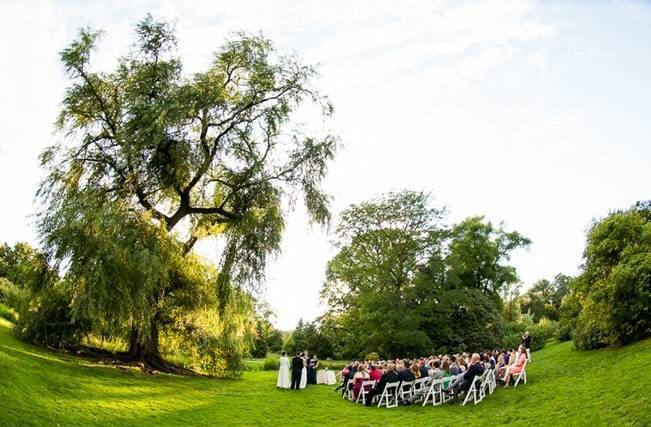 garden wedding in new york city