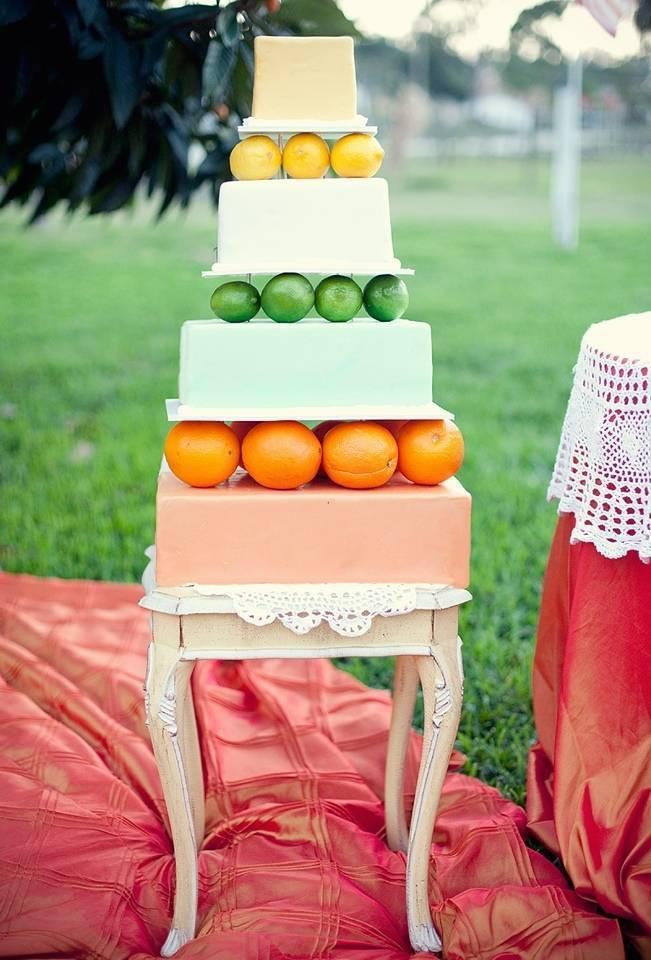 orange lime lemon cake