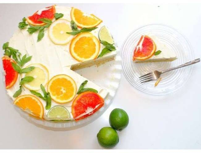 lemon lime grapefruit cake
