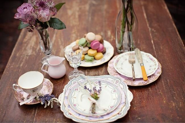 vintage china for weddings