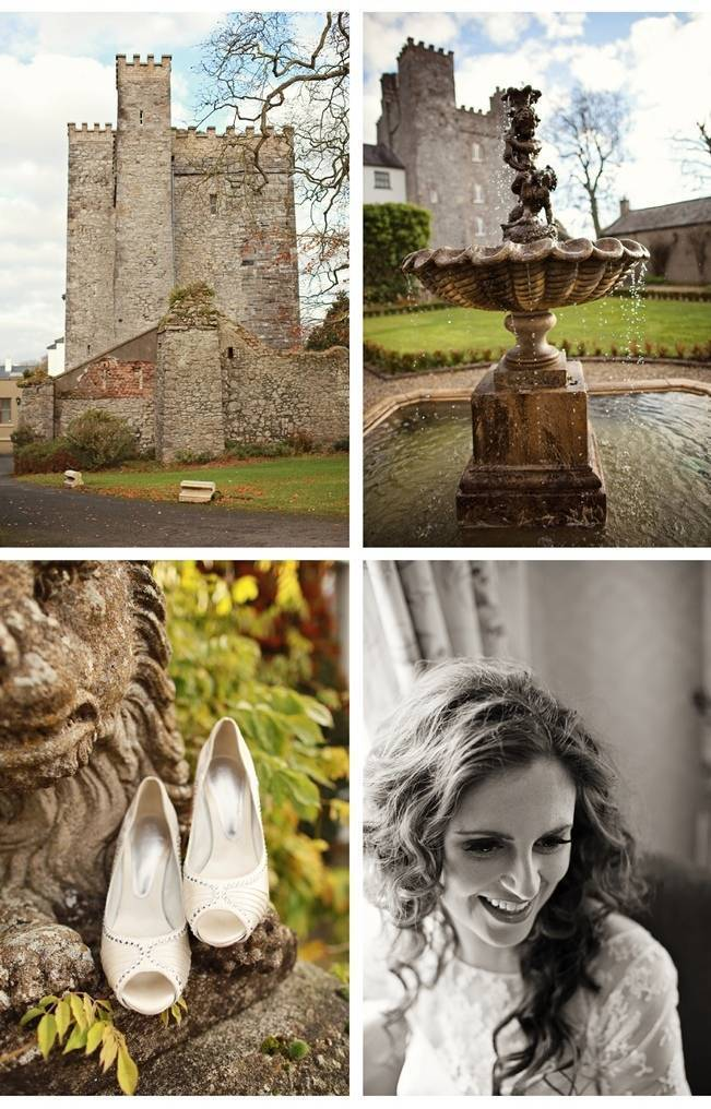 wedding at castle in ireland