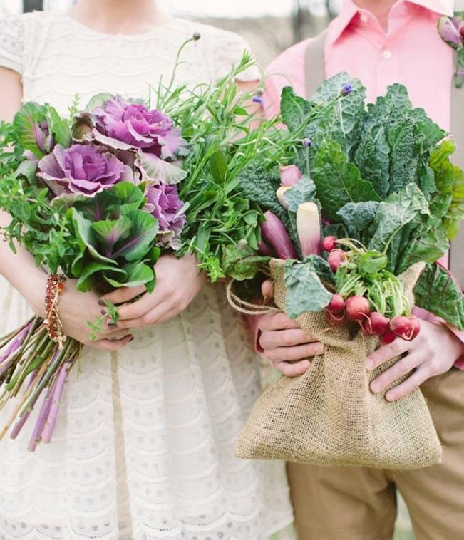 Farm Fresh Wedding Inspiration Shoot {Cluney Photo}