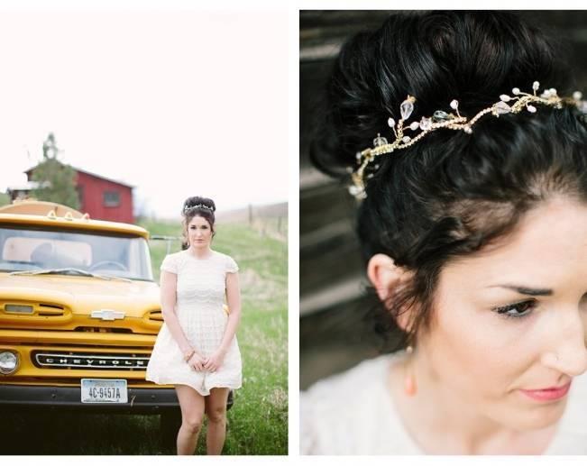 lacielle roselle garden vine wedding crystal hair piece