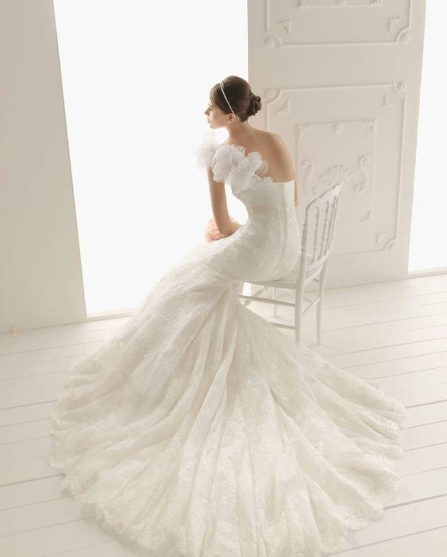 Noviamor mermaid wedding dress