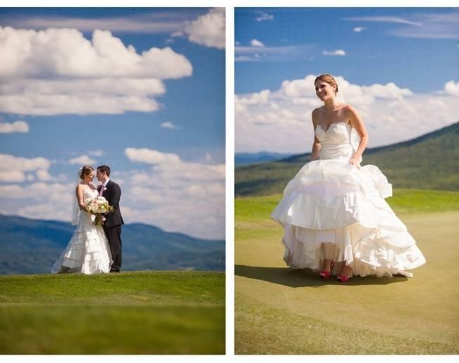 vermont mountain wedding summer