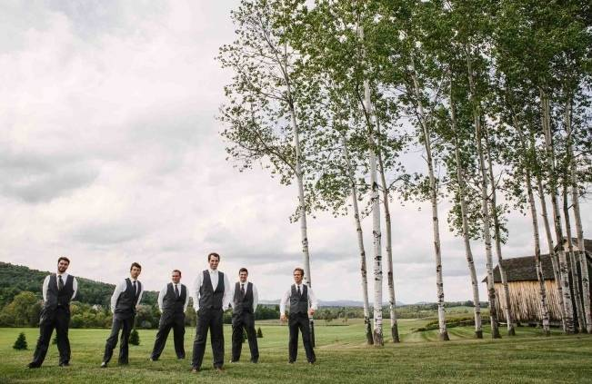 Rustic Nipmoose Barn Wedding {Christina Bernales Photography}