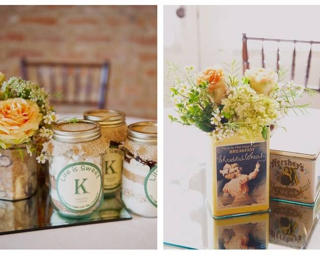 cookie mix in mason jars wedding favors