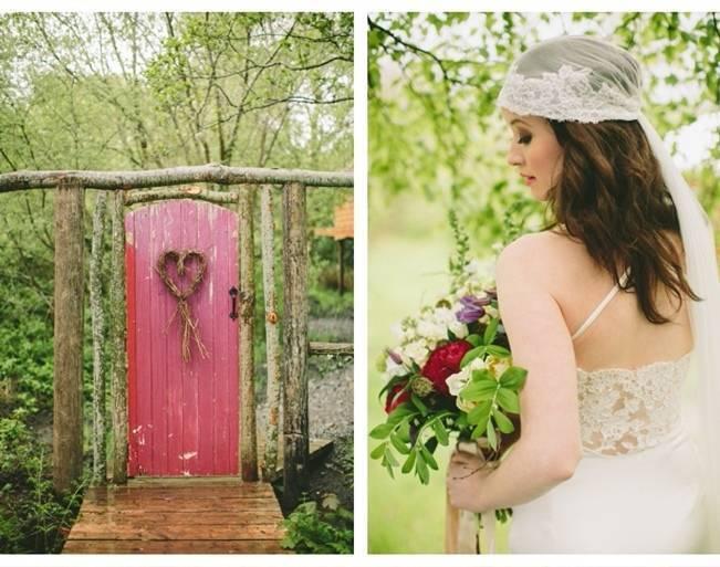 secret woodland door