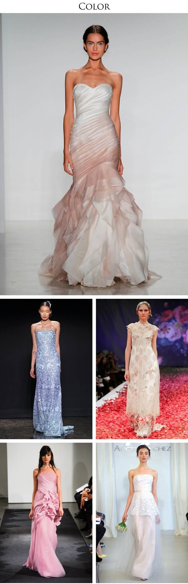 2014 Bridal Runway Trends & Some of Our Favorite Looks