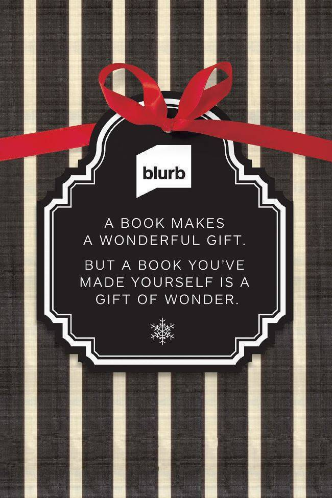 Blurb 2013 Holiday Gift Guide + 20% off Discount