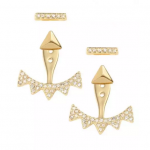 PAVÉ TRIANGLE EAR JACKET