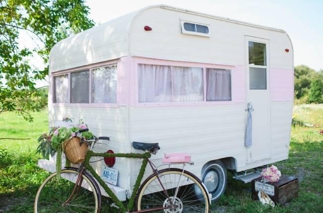 pink trailer