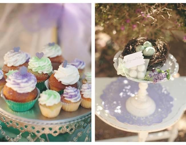 lavender mint cupcakes