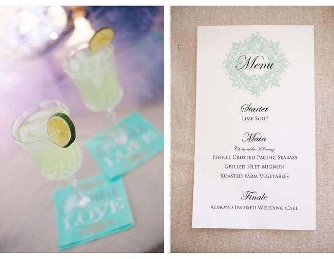 mint green drinks